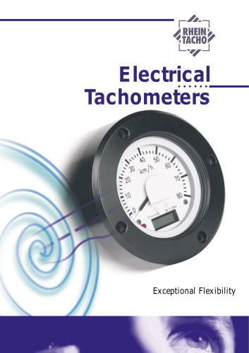 Electrical tachometers