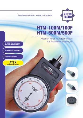 Mechanische Handtachometer HTM