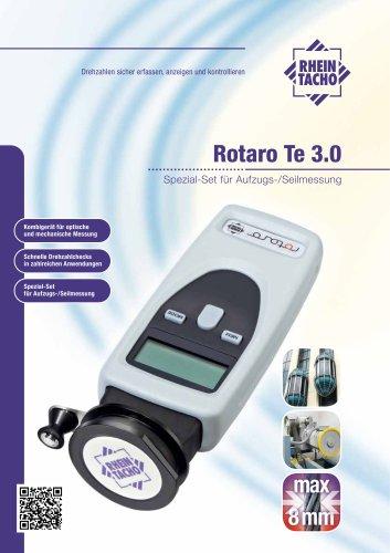 Rotaro Te 3.0 Spezial-Set für Aufzugs-/Seilmessung