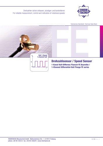 Sensor: 1-Kanal Hall-Differenz FE Baureihe