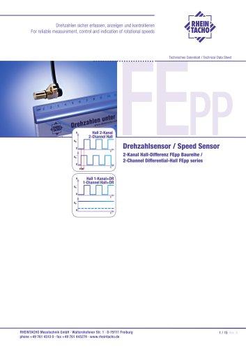 Sensor: 2-Kanal Hall-Differenz FE Push-Pull Baureihe