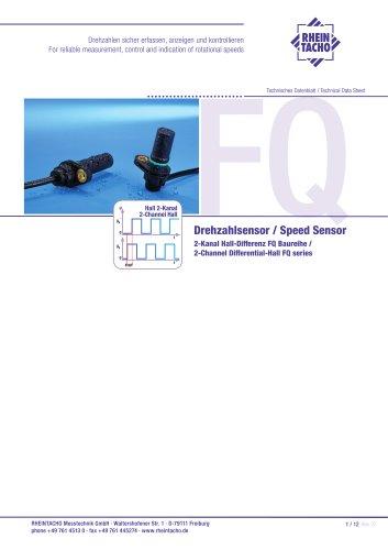 Sensor: 2-Kanal Hall-Differenz FQ Baureihe