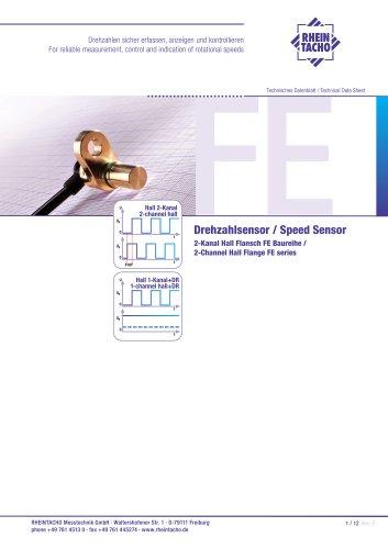 Sensor: 2-Kanal Hall FE Baureihe