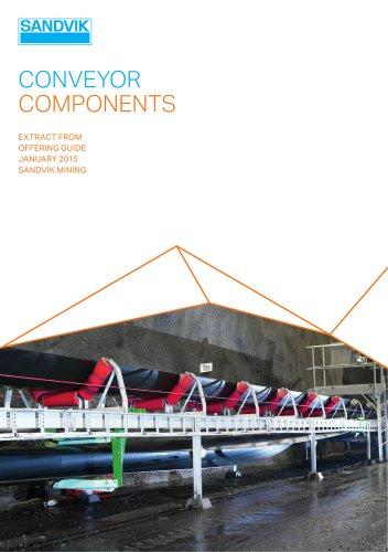 Sandvik conveyor components