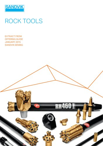 Sandvik rock tools