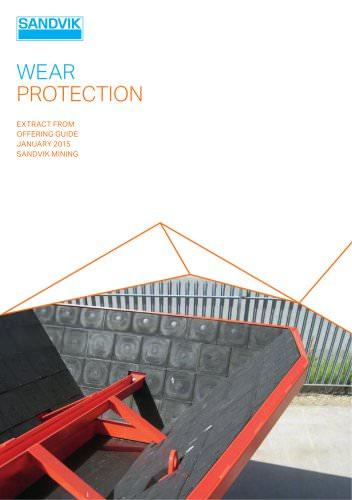 Sandvik wear protection