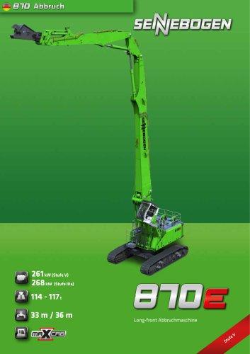 870 Demolition R-HDD