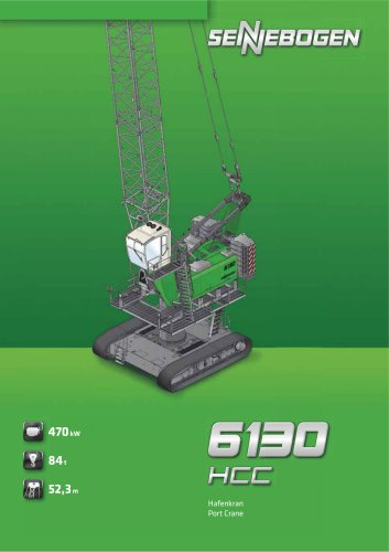 Hafenmobilkran 6130 HCC - Crane Line