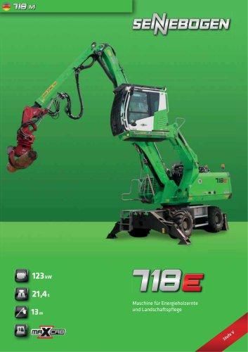 Materialumschlagmaschine 718 Mobil - Green Line