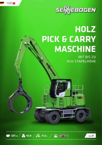 Materialumschlagmaschine 735 Mobil E-Serie
