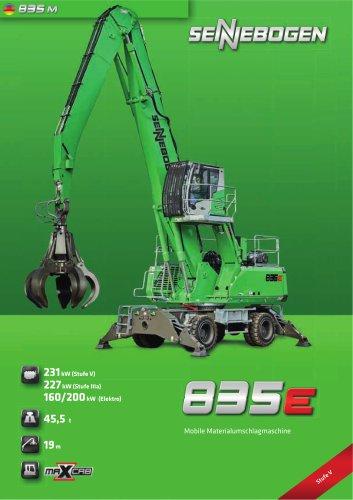 Materialumschlagmaschine 835 Mobil E-Serie - Green Line