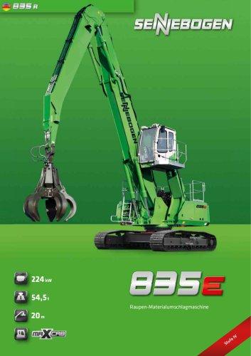 Materialumschlagmaschine 835 Raupe - Green Line