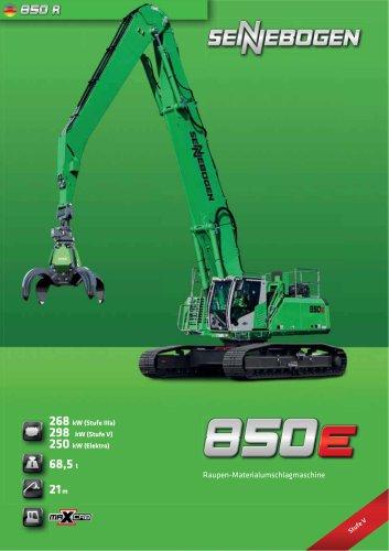 Materialumschlagmaschine 850 Raupe - Green Line