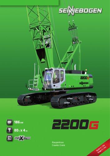 Raupenkran 2200 E-Serie - Crane Line
