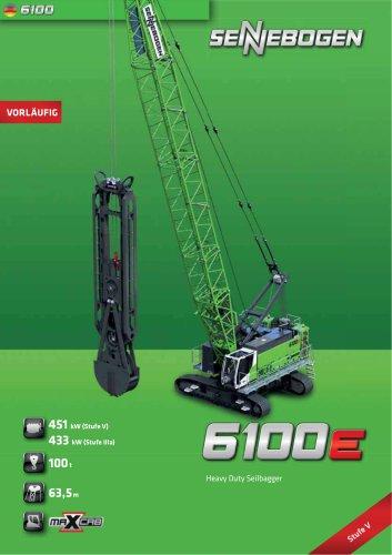 Seilbagger 6100 HD - Crane Line
