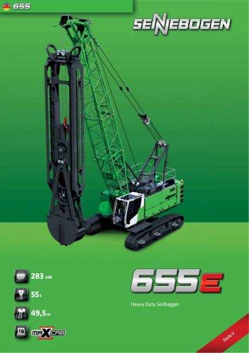 Seilbagger 655 HD E-Serie - Crane Line