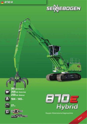Umschlagbagger 870 Mobil - Green Line
