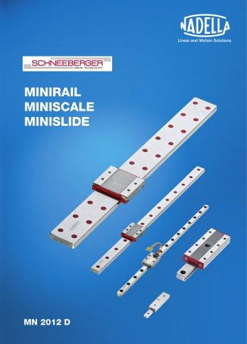 Schneeberger Linearführungen Minirail