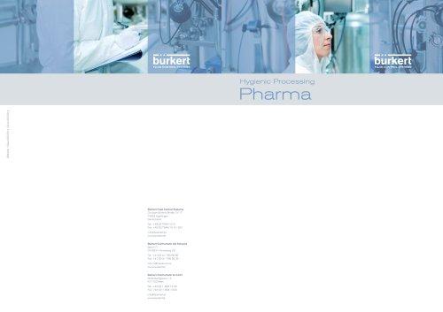 Flyer Hygienic Pharma