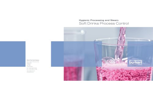 Industrie-Flyer Soft Drinks Manufacturers_En