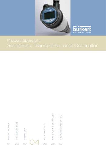Produktübersicht Sensoren