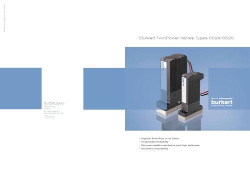 TwinPower Valves Types 6624/6626