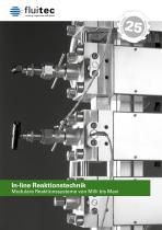 Fluitec In-line Reaktionstechnik 2018