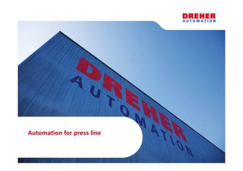 Press line automation
