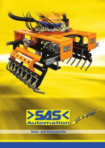 SAS automation kartongreifer