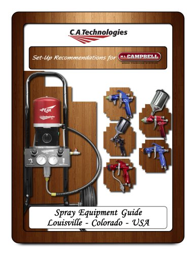 CAT M.L. Campbell Spray Equipment Guide