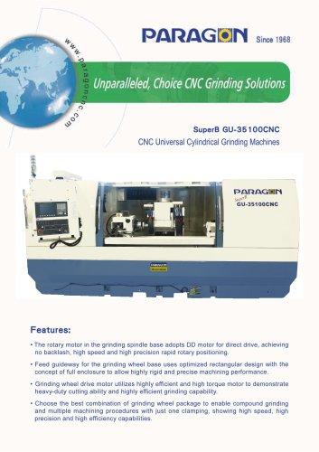SuperB GU-35100CNC Universal Cylindrical Grinding Machines