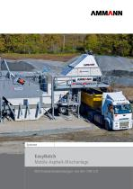 EasyBatch Mobile Asphalt-Mischanlage