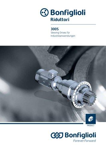 300 series - Slewing Drives für industrieanwendungen