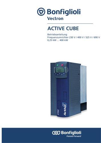 Active Cube Betribsanleitung Frequenzumrichter 230 V / 400 V / 525 V / 690 V 0,25 kW ... 400 kW