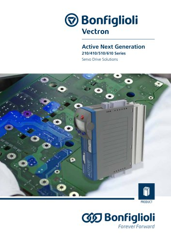 Active Next Generation 210/410/510/610 Series Servo Drive Solutions