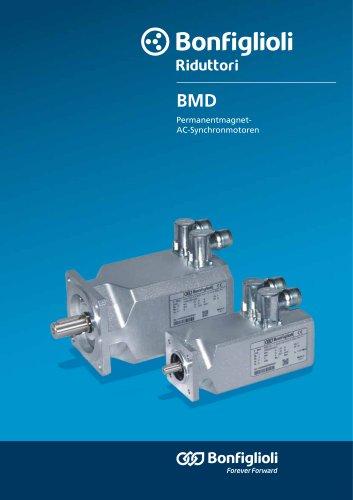BMD series - Permanentmagnet- AC-Synchronmotoren
