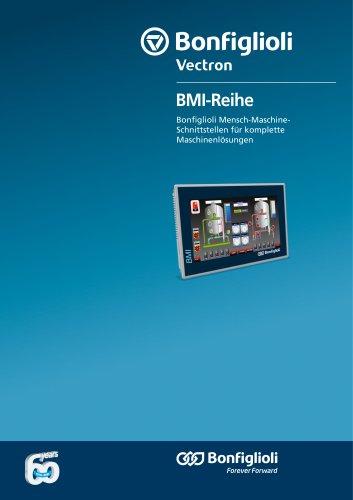 BMI Reihe - Mensch-Maschine-Schnittstellen für komplette Maschinenlösungen