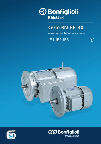 BN - BE - BX series - Asynchronen Drehstrommotoren IE1-IE2-IE3