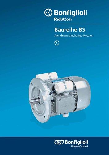 BS Asynchrone einphasige Motoren