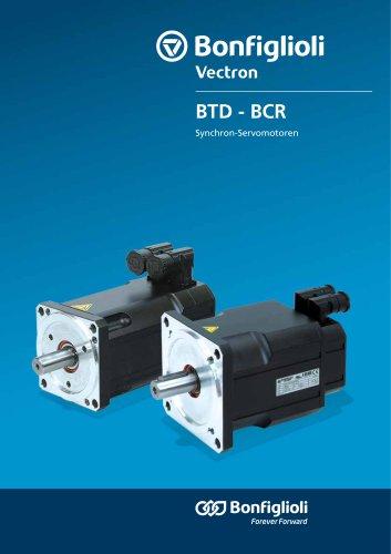 BTD - BCR series - Synchron-Servomotoren
