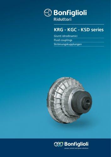 KRG-KGC-KSD series Fluid couplings