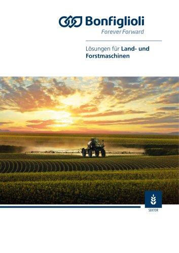 Lösungen für Land- und Forstmaschinen