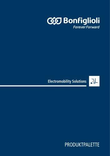 Produktpalette Electromobility Solutions