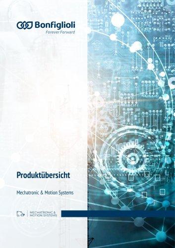Produktübersicht Mechatronic & Motion Systems