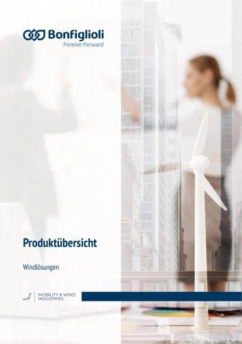 Produktübersicht Windlösungen