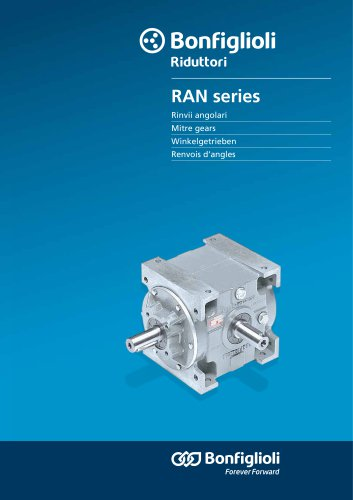 RAN series - Winkelgetrieben