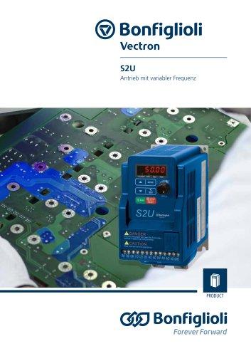 S2U series - Antrieb mit variabler Frequenz