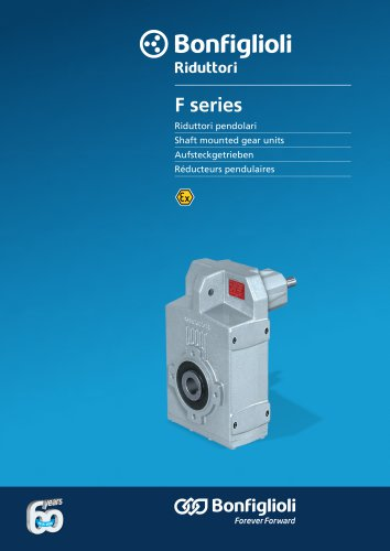 Serie F - Shaft mounted gear units - Atex