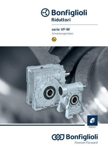 serie VF-W - Schneckengetrieben - Atex