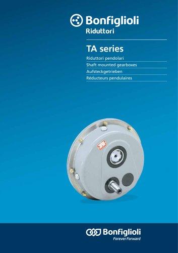 TA series - Aufsteckgetrieben